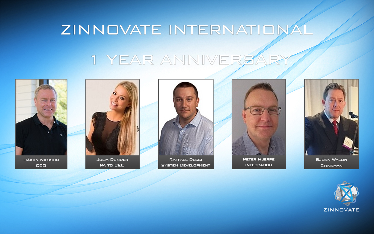 Zinnovate 1 year