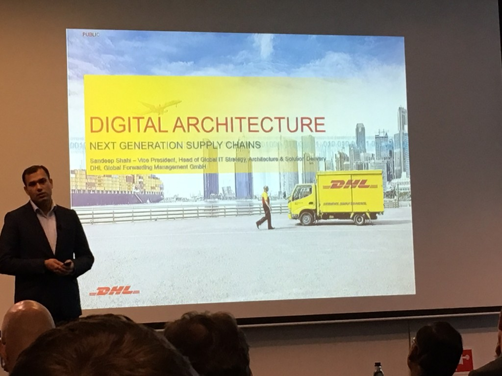 Sandeep Shahi, DHL, combined in-depth business insights with much appreciated personal reflections